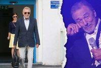 Gott dojal oslavenkyni Zagorovou i celý sál: Po koncertě ale skončil v nemocnici