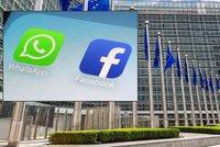 Facebook dostal třímiliardovou pokutu v Bruselu. Klamal při převzetí WhatsAppu