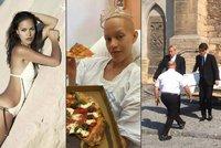Pohřeb modelky Julie (†26), kterou zabila rakovina: Bílou rakev nesl táta s bratrem