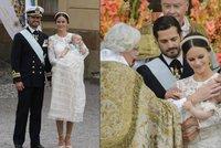 Královské křtiny: Švédský princ Alexandr se choval jako pravý monarcha
