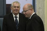 Zrušte zákaz spolupráce s komunisty, vyzval Zeman ČSSD