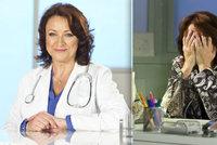 Zlata Adamovská alias doktorka Běla z Ordinace: Rakovina prsu! Konec v seriálu?!