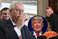 Ostří Britové: Zeman bývá opilý a jako Trump fandí nenávisti k uprchlíkům