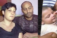 Sebastiánka (†3) zabila elektřina, chudí rodiče ho nemají za co pohřbít