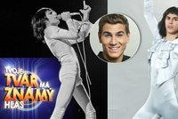 Freddie Mercury ničí hvězdu Tváře: Gránskému zdeformoval penis!