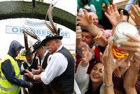 Sud naražen! Mnichovský pivní festival Oktoberfest 2016 už odstartoval