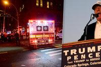 Trump chce po explozi v New Yorku přitvrdit. Clintonová za tím teroristy nevidí