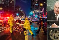 """""""Exploze v New Yorku je terorismem,"""" řekl guvernér. Do města míří i Zeman"""