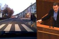 Poslanec Lipšic srazil škodovkou chodce u přechodu: Muž (†72) zraněním podlehl