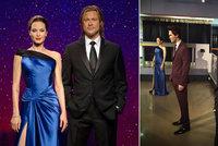 I vosková Angelina Jolie opustila Brada Pitta: Figuríny v muzeu od sebe oddělili
