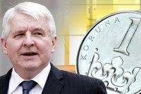 """Koruna je rekordně silná k euru i dolaru. Česku """"šlape"""" ekonomika"""
