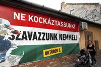 Dají Maďaři stopku uprchlíkům? Od rána hlasují v referendu
