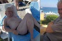 Prezident Zeman na Rhodosu: Pohodička na pláži. Ovčáček vše dokumentoval