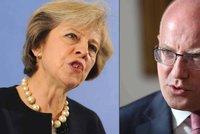 Mayová chce v Británii kontrolovat lidi z EU, Sobotka je proti