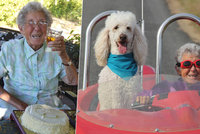 Babička (91) s rakovinou místo chemoterapie procestovala USA. Letěla i balónem