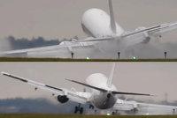 Hrozivé přistání na ruzyňském letišti: Chyba pilota? Nebo práce mistra?