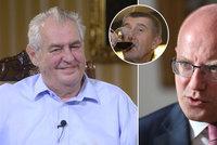 Zeman o volbách: Babiš si úspěch zaslouží. Na hrobě ČSSD tančit nechci