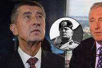Topolánek přirovnal Babiše k Mussolinimu. Šéfovi ANO prý stačí tři věty