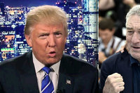 Herec De Niro vzkázal Trumpovi: Nejraději bych ti rozbil hubu!