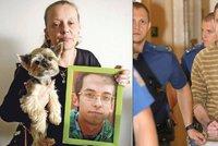 Máma oběti taxivraha zná detaily synovy smrti: Aspoň vím, že jsi netrpěl. Je mi zle z té krysy