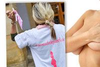 Ozařování i ztráta prsu: Jana přežila rakovinu, teď pomáhá bojovat ostatním