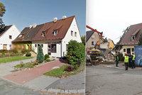 U sousedů vybuchl plyn, jejich dům půjde také k zemi: Rozebírají ho cihlu po cihle
