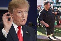 Xaver Veselý byl přímo v sále prezidentské debaty: Hodil bych to Trumpovi!