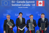 Evropa bude s Kanadou obchodovat bez cel. Dohodu schválil europarlament