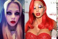 Halloween ve světě: Heidi Klum, Paris Hilton i Avril Lavigne se změnily k nepoznání