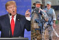 """Trumpa podporuje vlastní milice. """"Na zbraně nám nesáhneš,"""" vzkazují Clintonové"""