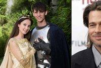 Princezna z nové pohádky Pravý rytíř: Točila jsem s Bradem Pittem