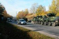 Armáda má zpět tři pandury, které bouraly u Tábora. Vojáci na střet doplatili