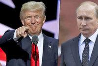 Trump zahýbe vztahy USA s Putinovým Ruskem, kalkulují analytici