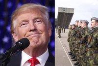 USA nebudou Česko bránit, vzkázal Trump. Sami ubráníme jen jeden kraj