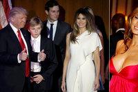 Nová první dáma USA: Školu nedodělala, klofla ženatého Trumpa a dostala prsten za 45 milionů