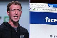Strašná zpráva na Facebooku: Mark Zuckerberg a další jsou mrtví! Poplach způsobila chyba
