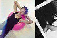 Sexy modelka Linda Vojtová: Předvedla své nahé vysportované tělo