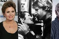 Bylo to vášnivé! Princezna Leia a Han Solo měli románek i mimo filmové plátno