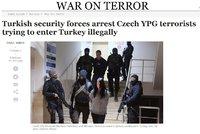 """Turecko obvinilo dva Čechy. Měli podporovat """"kurdské teroristy"""", přišli ze Sýrie"""