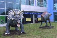 Dinosauří modely fascinují Brno! V Technickém muzeu se divák ocitne v druhohorách