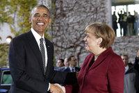 Evropští politici se loučí s Obamou. V Berlíně řeší Trumpa i protiruské sankce