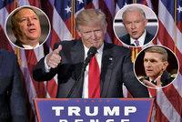 Miliardáři, vojáci a potomci přistěhovalců. Kdo bude řídit Trumpovu Ameriku?
