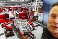 Česko je blízko obří továrně Tesly na elektromobily. Chce ji prý miliardář Musk
