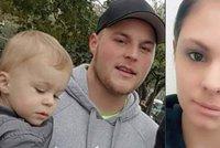 Dominik podřízl přítelkyni (†20) hrdlo a utekl se synem do zahraničí: Našli ho ve Španělsku