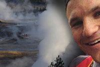 Turista spadl do kyselého pramene v Yellowstonu, jeho tělo se rozpustilo