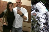 Brankář Danilo z tragické havárie letadla s fotbalisty: Než zemřel, volal manželce, že je v pořádku