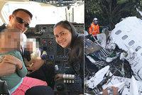 Pilot letadla smrti: Při letecké katastrofě zemřel i jeho otec