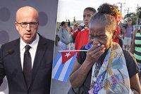 Telička burcuje kubánskou opozici a kritizuje EU: Neřešte gesta, ale lidi