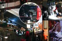 Vánoční teror na trzích v Berlíně si připsal ISIS. Vrah z kamionu uniká policii