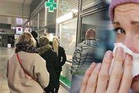 V Praze propukla chřipková epidemie. Počet pacientů vzrostl o třetinu